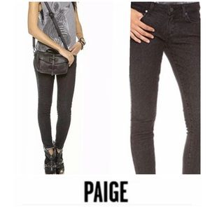 Paige Emily Ultra Skinny Chevron Jeans
